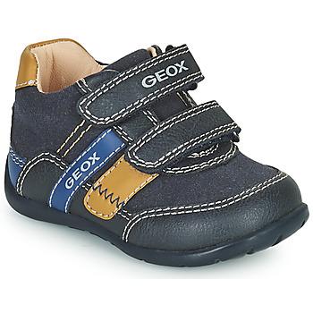 Zapatos Niño Zapatillas bajas Geox ELTHAN Marino