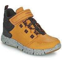 Zapatos Niño Botas de caña baja Geox FLEXYPER ABX Marrón