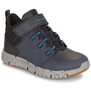 Zapatos Niño Botas de caña baja Geox FLEXYPER ABX Marino