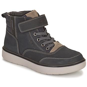 Zapatos Niño Botas de caña baja Geox RIDDOCK WPF Marino