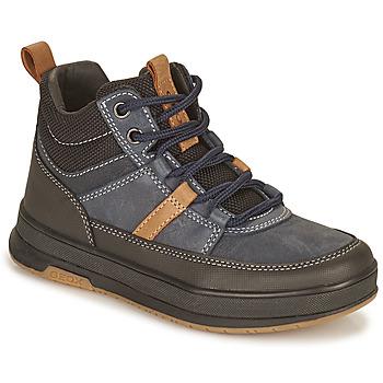 Zapatos Niño Botas de caña baja Geox ASTUTO Marino