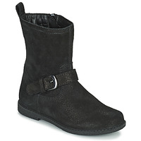 Zapatos Niña Botas urbanas Geox SHAWNTEL Negro