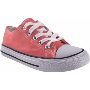 Zapatos Niña Multideporte Bienve Lona niña  abx063 salmon Rosa
