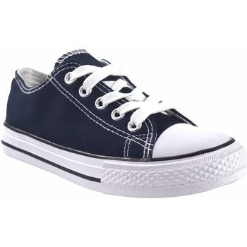 Zapatos Niña Multideporte Bienve Lona niño  abx063 azul Azul