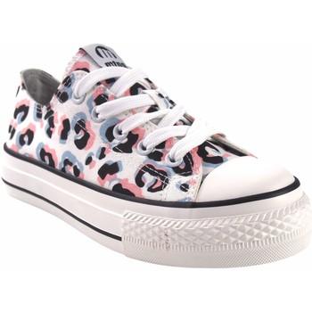 Zapatos Niña Multideporte MTNG Lona niña MUSTANG KIDS 81195 bl.ros Rosa