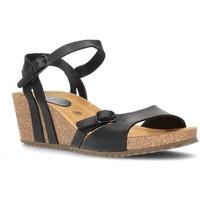 Zapatos Mujer Sandalias Interbios W NEGRO