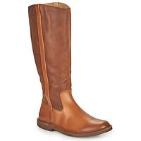 Zapatos Mujer Botas urbanas Kickers TINTTA Camel