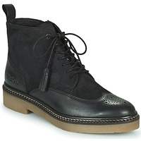 Zapatos Mujer Botas de caña baja Kickers OXANYHIGH Negro