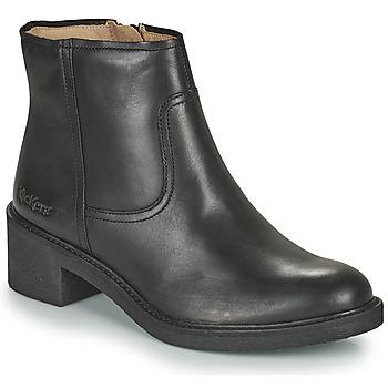 Zapatos Mujer Botines Kickers OXYBOOT Negro