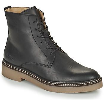 Zapatos Mujer Botas de caña baja Kickers OXIGENO Negro