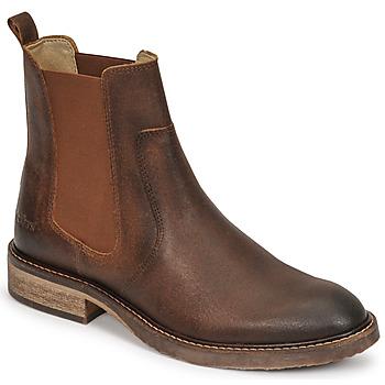 Zapatos Mujer Botas de caña baja Kickers ALPHASEA Camel