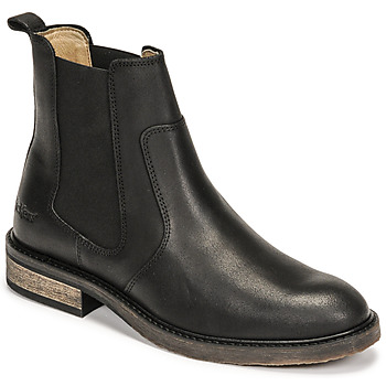 Zapatos Mujer Botas de caña baja Kickers ALPHASEA Negro