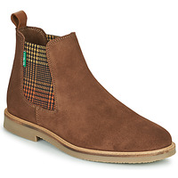 Zapatos Mujer Botas de caña baja Kickers TYGA Camel