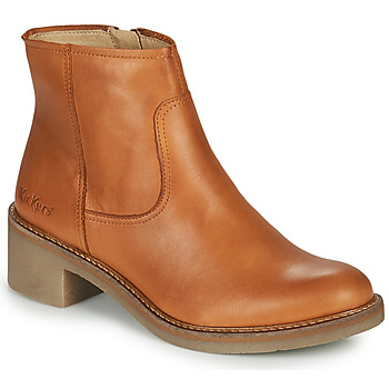 Zapatos Mujer Botines Kickers OXYBOOT Camel