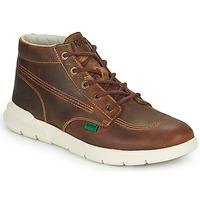 Zapatos Hombre Botas de caña baja Kickers KICKI HI 3 Marrón