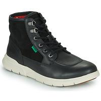 Zapatos Hombre Botas de caña baja Kickers KICKI HI 4 Negro