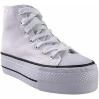 Zapatos Mujer Multideporte Bienve Lona señora  abx012 blanco Blanco
