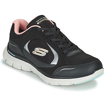 Zapatos Mujer Zapatillas bajas Skechers FLEX APPEAL 4.0 Negro / Rosa