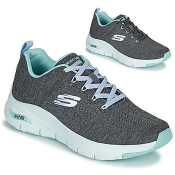 Zapatos Mujer Zapatillas bajas Skechers ARCH FIT Gris / Azul