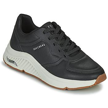 Zapatos Mujer Zapatillas bajas Skechers ARCH FIT S-MILES Negro