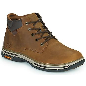 Zapatos Hombre Botas de caña baja Skechers SEGMENT 2.0 Marrón