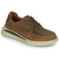 Zapatos Hombre Zapatillas bajas Skechers PROVEN Marrón