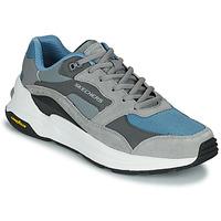 Zapatos Hombre Zapatillas bajas Skechers GLOBAL JOGGER Gris / Azul