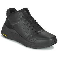 Zapatos Hombre Zapatillas altas Skechers GLOBAL JOGGER Negro