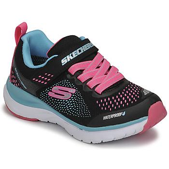 Zapatos Niña Zapatillas bajas Skechers ULTRA GROOVE Negro / Rosa / Azul