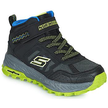 Zapatos Niño Zapatillas altas Skechers FUSE TREAD Negro / Amarillo