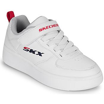 Zapatos Niños Zapatillas bajas Skechers SPORT COURT 92 Blanco