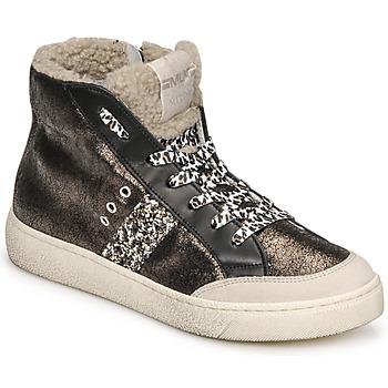 Zapatos Mujer Zapatillas altas Meline CAR1425 Negro