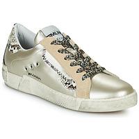 Zapatos Mujer Zapatillas bajas Meline NK139 Oro / Serpiente