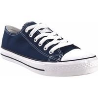 Zapatos Hombre Multideporte Bienve Lona caballero  ca-1309 azul Azul