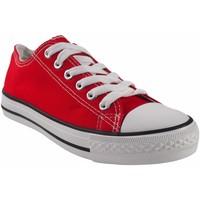Zapatos Mujer Multideporte Bienve Lona señora  ca01 rojo Rojo