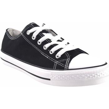 Zapatos Hombre Multideporte Bienve Lona caballero  ca-1309 negro Negro