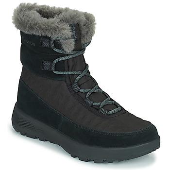 Zapatos Mujer Botas de nieve Columbia SLOPESIDE PEAK LUXE Negro