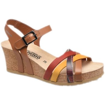 Zapatos Mujer Sandalias Mephisto MEPHLANNYcamel marrone
