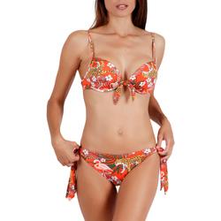 textil Mujer Bikini Admas Conjunto de bikini 2 piezas preformado Jungle Fever naranja Naranjaange