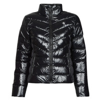 textil Mujer Plumas Calvin Klein Jeans GLOSSY LW PADDED PUFFER JACKET Negro