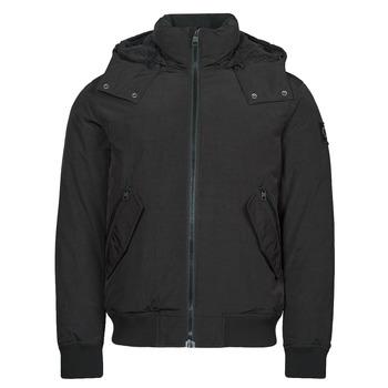 textil Hombre Parkas Calvin Klein Jeans SHERPA LINED SHORT JACKET Negro