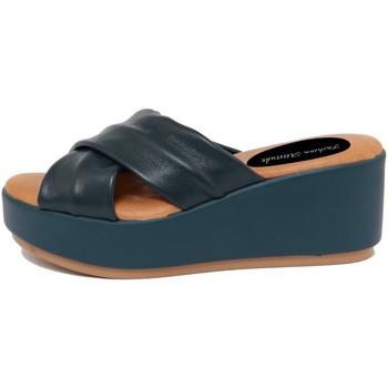 Zapatos Mujer Zuecos (Mules) Fashion Attitude  Blu