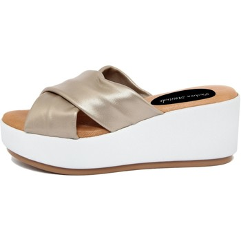 Zapatos Mujer Zuecos (Mules) Fashion Attitude  Oro