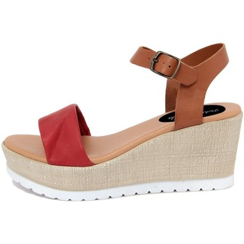 Zapatos Mujer Sandalias Fashion Attitude  Rosso