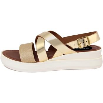 Zapatos Mujer Sandalias Fashion Attitude  Oro
