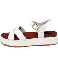 Zapatos Mujer Sandalias Fashion Attitude  Bianco