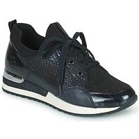Zapatos Mujer Zapatillas bajas Remonte Dorndorf ANITAS Negro / Blanco