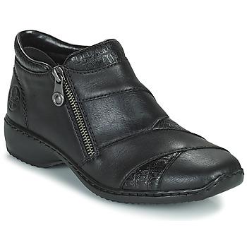 Zapatos Mujer Botas de caña baja Rieker SALOMA Marino