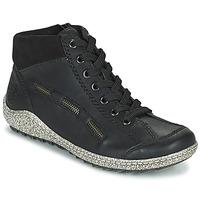 Zapatos Mujer Botas de caña baja Rieker GUERINA Marino