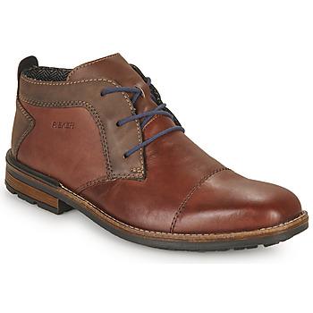 Zapatos Hombre Derbie Rieker FALINDA Marrón